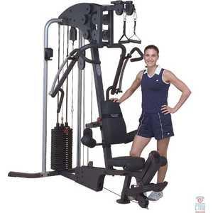 Мультикомплекс Body Solid G4I многофункциональный тренажер с одним весовым стеком body solid g3s selectorized