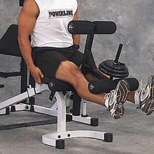 Опция сгибание-разгибание ног Body Solid Powerline PLDA1/PLDA11X разгибание ног сидя pangolin 9002