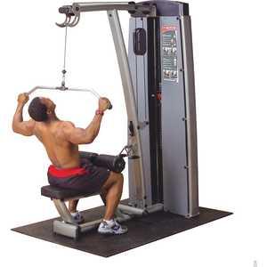 Вертикально-горизонтальная тяга Body Solid Pro-Dual DLAT-SF мультижим от груди верхняя тяга body solid body solid produal dpls sf
