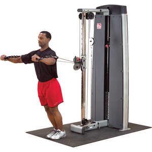 Тросовая станция Body Solid Pro-Dual DPCC-SF мультижим от груди верхняя тяга body solid body solid produal dpls sf