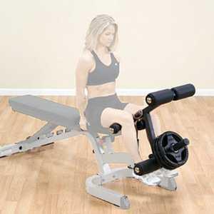 Опция сгибание-разгибание ног Body Solid GLDA-3