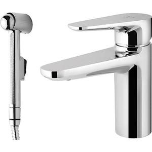 Смеситель для раковины Am.Pm Inspire с гигиеническим душем (F5004000) смеситель для раковины с гигиеническим душем коллекция chanel 35 g1204 однорычажный хром gappo гаппо