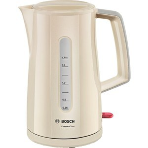 Чайник электрический Bosch TWK 3A017 bosch twk 3a017 бежевый