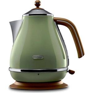Чайник электрический DeLonghi KBOV 2001.GR чайник delonghi kbov 2001 bk
