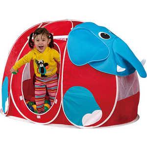 Игровой дом Calida Слоник 130х90х85см и 100 шаров 666 игрушки для улицы игровая палатка с мячиками 100 шт calida вилла 85х85х110см