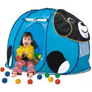 Игровой дом Calida Собачка 130х90х85см и 100 шаров 668 палатки домики calida дом палатка 100 шаров космический корабль