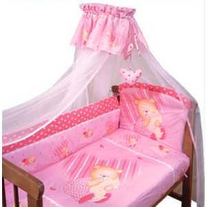 Комплект постельного белья Золотой гусь Мишутка (розовый) 2106 защитный бампер золотой гусь мишутка