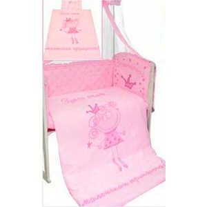 Комплект постельного белья Золотой гусь Растём весело (розовый) 2286 комплект постельного белья золотой гусь сабина 7 предметов 100