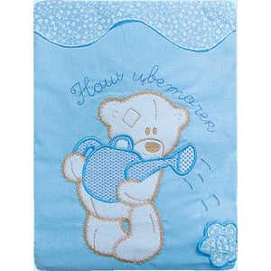 Комплект постельного белья Золотой гусь Сабина (голубой) 2212