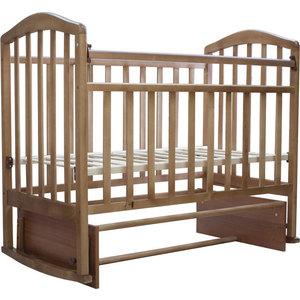 все цены на Кроватка Антел Алита-3 маятник/качалка орех онлайн