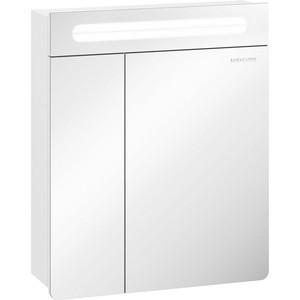 Зеркальный шкаф Edelform Гласс 54,5x66 белый (2-623-00-S)