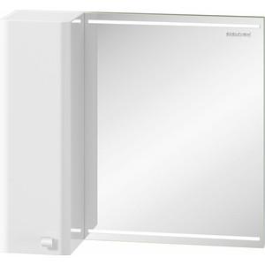 Зеркало-шкаф Edelform Нота 70x63 с подсветкой, белый (2-641-00-S) зеркальный шкаф edelform belle 80 с подсветкой белый глянец