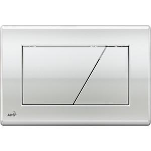 Кнопка смыва AlcaPlast глянцевый хром (M171)