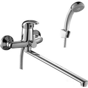 Смеситель для ванны Rossinka излив 350 мм с аксессуарами (C40-32) цена