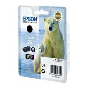 Картридж Epson Black XP600/7/8 (C13T26014010)