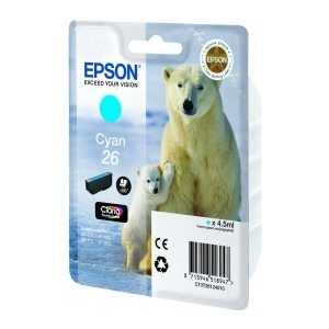 Картридж Epson Cyan XP600/7/8 (C13T26124010)