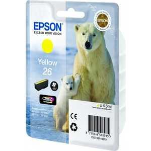 Картридж Epson Yellow XP600/7/8 (C13T26144010) цена