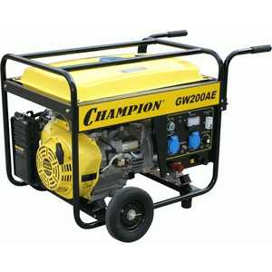 Генератор бензиновый сварочный Champion GW200AE цена