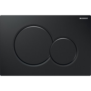 Кнопка смыва Geberit Sigma 01 черная (115.770.DW.5)