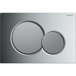 Кнопка смыва Geberit Sigma 01 хром/матовый хром (115.770.KA.5)