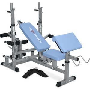 Многофункциональная скамья Carbon Fitness MB-60 разгибание ног сидя pangolin 9002