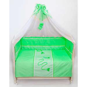 Комплект в кроватку Bombus Бабочки 7 предметов (зелёный) 1474 bombus bombus repeat until death lp cd