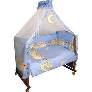 Комплект постельного белья Сонный Гномик Лежебоки (голубой) 315/1 комплект белья estia ла рош 1 5 спальный наволочки 50х70 70х70 цвет голубой