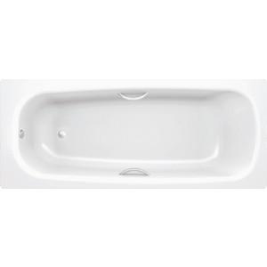 Ванна стальная BLB Universal hg 170х75 см 3.5 мм с отверстиями для ручек шумоизоляцией (B75HTH001)