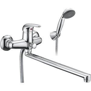 Смеситель для ванны SMARTsant Реал излив 350 мм с аксессуарами (SM033502AA)