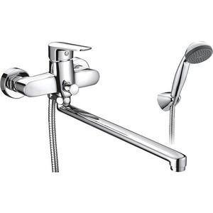Смеситель для ванны SMARTsant Инлайн излив 350 мм с аксессуарами (SM103502AA) смеситель для биде smartsant инлайн sm103505aa r