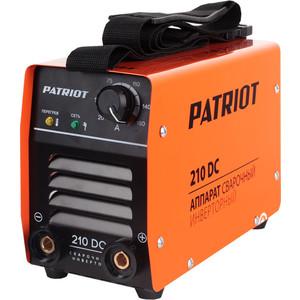 Сварочный инвертор PATRIOT 210DC