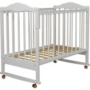 Купить со скидкой Кроватка Агат Золушка 1 белая 52104