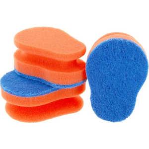 Aqualine 1127 Эргономичная губка для мытья посуды (3 шт.)