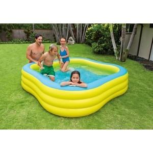 Бассейн Intex семейный 229х229х56 см 57495 цена