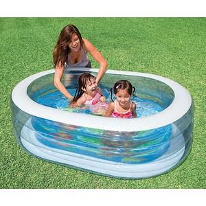 Бассейн Intex ванна 163х107х46 см 57482NP детский надувной бассейн murcia