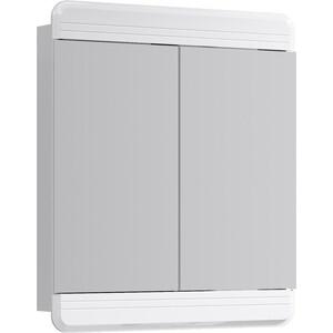 Зеркальный шкаф Aqwella Corsica 75x85 белый (Kor.04.07)