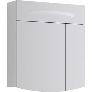 Зеркальный шкаф Aqwella Tempo 60x68 белый (Tmp.04.06)