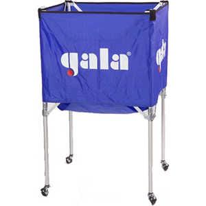 Тележка для мячей Gala XX41009, на 25-30 шт., цвет сине-белая