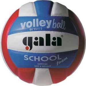 Мяч волейбольный Gala School Foam Colour (BV5511S), размер 5, цвет бел.-красн-син.