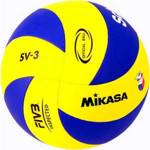 Мяч волейбольный Mikasa SV-3, размер 5, цвет сине-желтый мяч для пляжного волейбола mikasa vxs zb b р 5