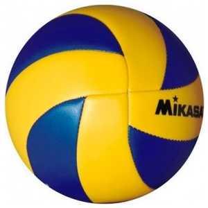 Мяч волейбольный сувенирный Mikasa MVA1.5, размер 1, цвет сине-желтый
