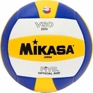 Мяч волейбольный Mikasa VSO2000, размер 5, цвет бел-жел-син