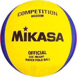 Мяч для водного поло Mikasa W6600W, размер мужской, цвет желто-сине-розовый мяч для водного поло mikasa w6008 junior р 2
