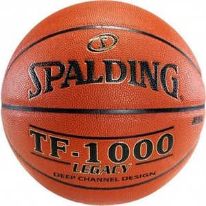 Мяч баскетбольный Spalding TF-1000 Legacy (74-450z), размер 7 spalding мяч баскетбольный spalding tf 150