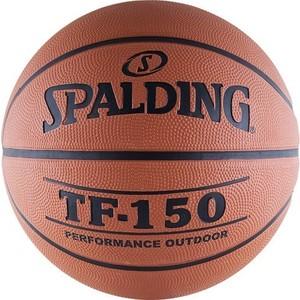 Мяч баскетбольный Spalding TF-150 (73-953z/63-684z/83-572z), размер 7 отзывы покупателей специалистов владельцев  - купить со скидкой
