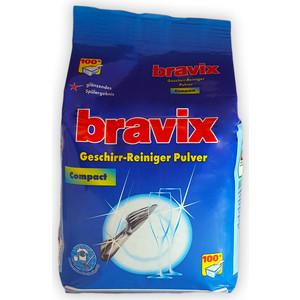 Порошок для ПММ Bravix 1800г (концентрат) порошок моющий bravix для посудомоечных машин 2 кг