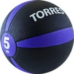 купить Медбол Torres 5 кг (арт. AL00225) по цене 2049.74 рублей