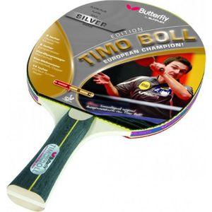 Ракетка для настольного тенниса Butterfly Timo Boll Silver цена 2017