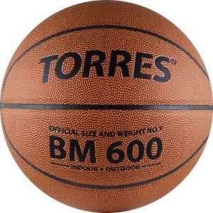 Мяч баскетбольный Torres BM600 (арт. B10026) цена