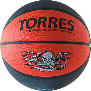 Мяч баскетбольный Torres Game Over (арт. B00117)